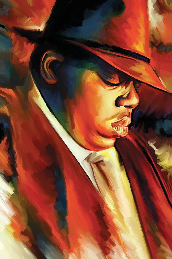 Biggie Painting Notorious Big - Biggie...