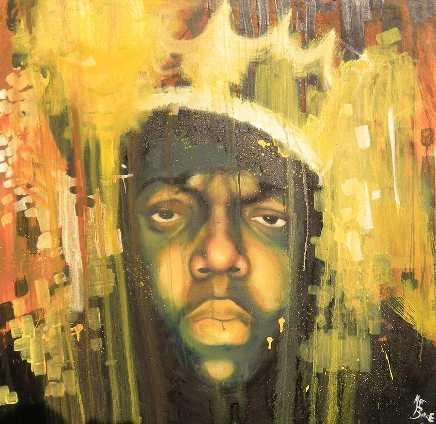 Biggie Painting Notorious B.i.g. Paint...