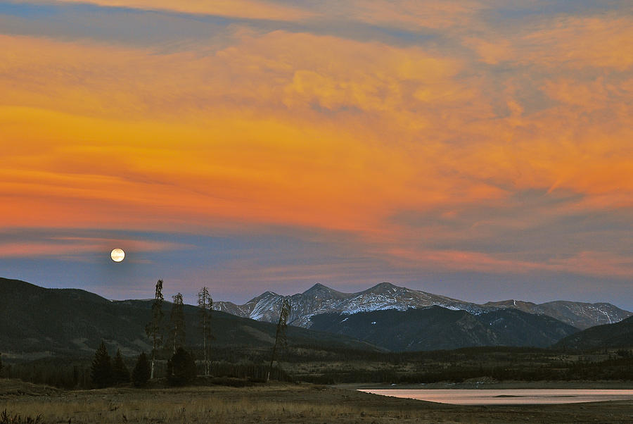 November Moonrise Photograph