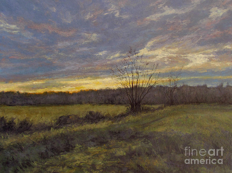 November Sunset Painting - November Sunset by Gregory Arnett