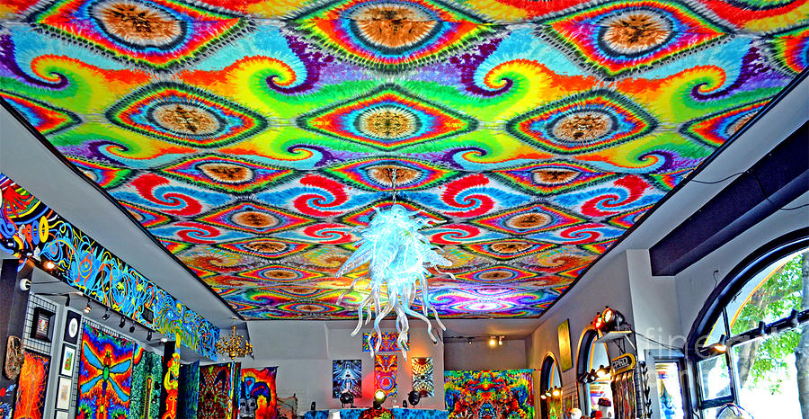 I Think He Found The Store He Was Looking For Photograph - Now Thats A Ceiling by Jim Fitzpatrick