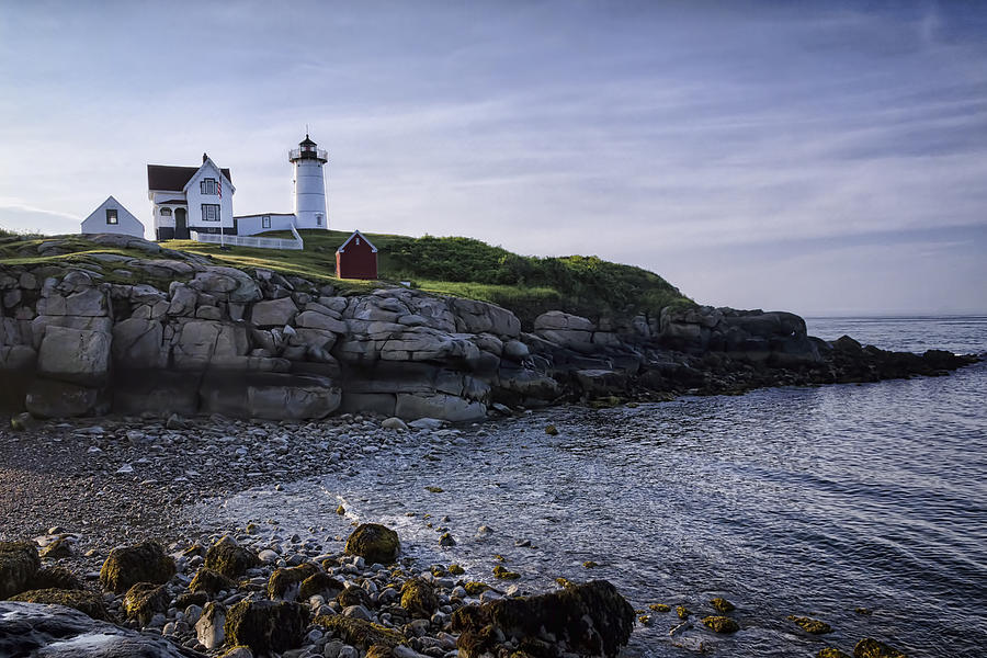 Nubble Dawn Photograph  - Nubble Dawn Fine Art Print