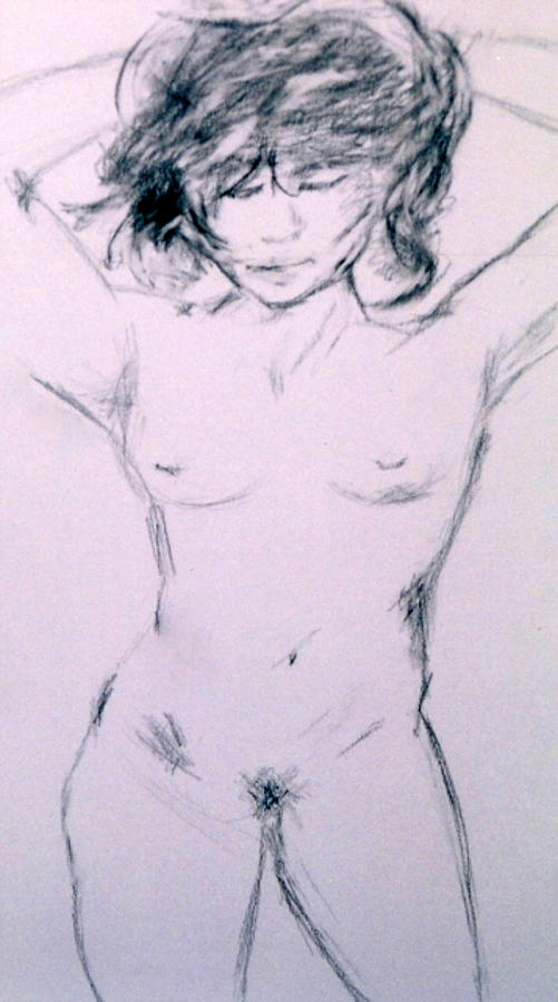 Nude #2 Drawing