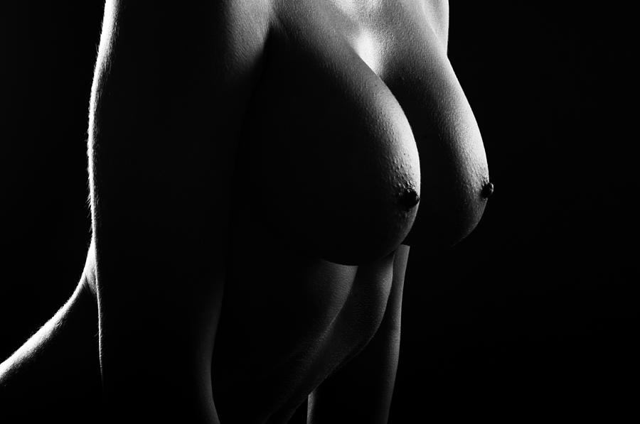 Room Photograph - Nude Art8bw by Eivydas Timinskas