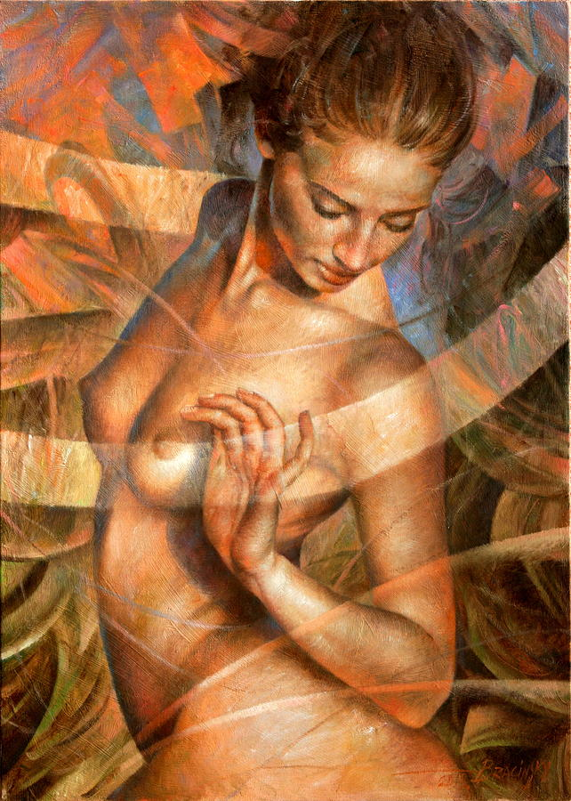 Nude Painting By Arthur Braginsky