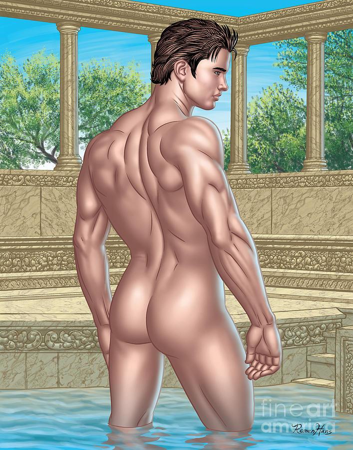 Roman Bath Nude 19