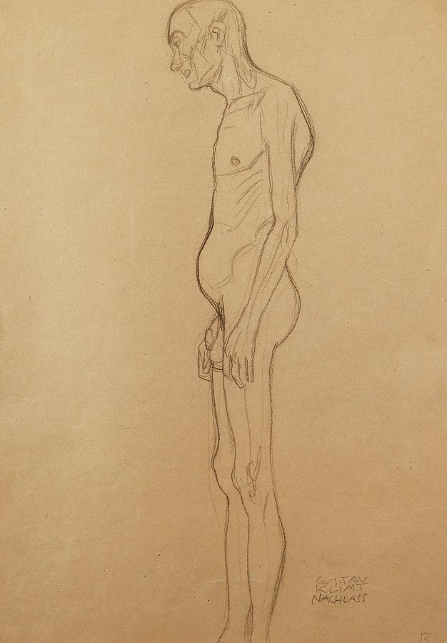 Nude Man Painting