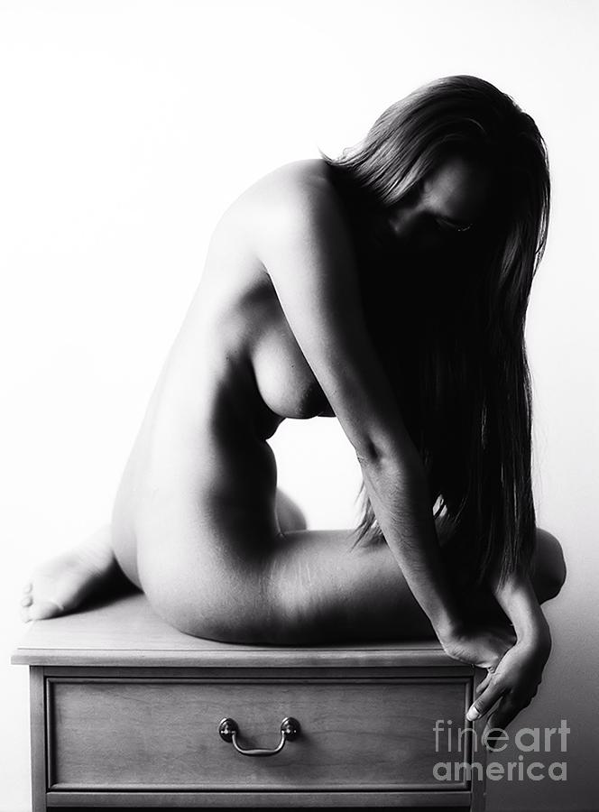 Nude On A Night Stand Photograph  - Nude On A Night Stand Fine Art Print