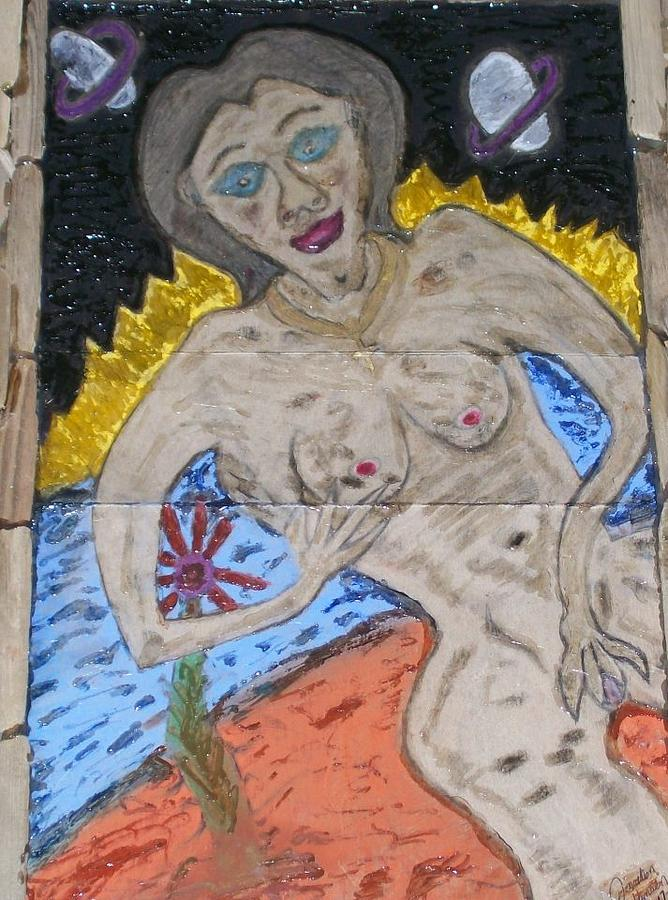 Nude Woman Drawing