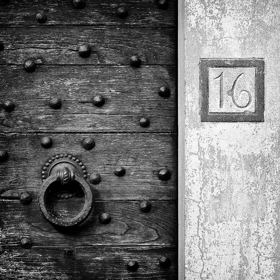 Number 16 Photograph - Number 16 by Dave Bowman