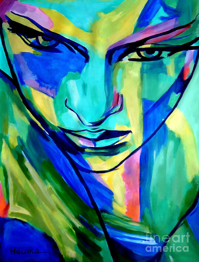 Numinous Emotions Painting by Helena Wierzbicki