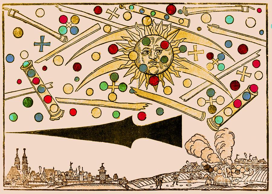 Nuremberg Ufo 1561 Photograph