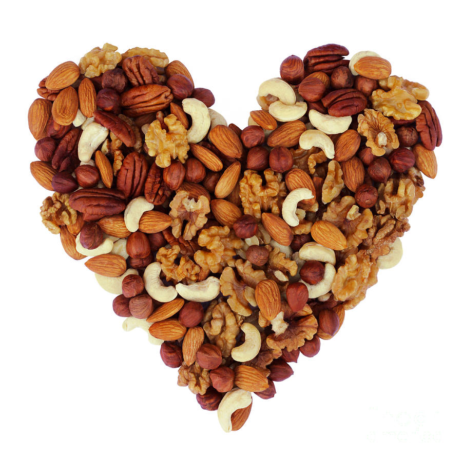 Nuts For A Healthy Heart is a photograph by Rosemary Calvert which was ...