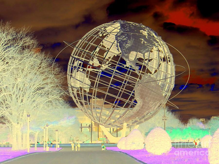Ny Worlds Fair Unisphere Photograph