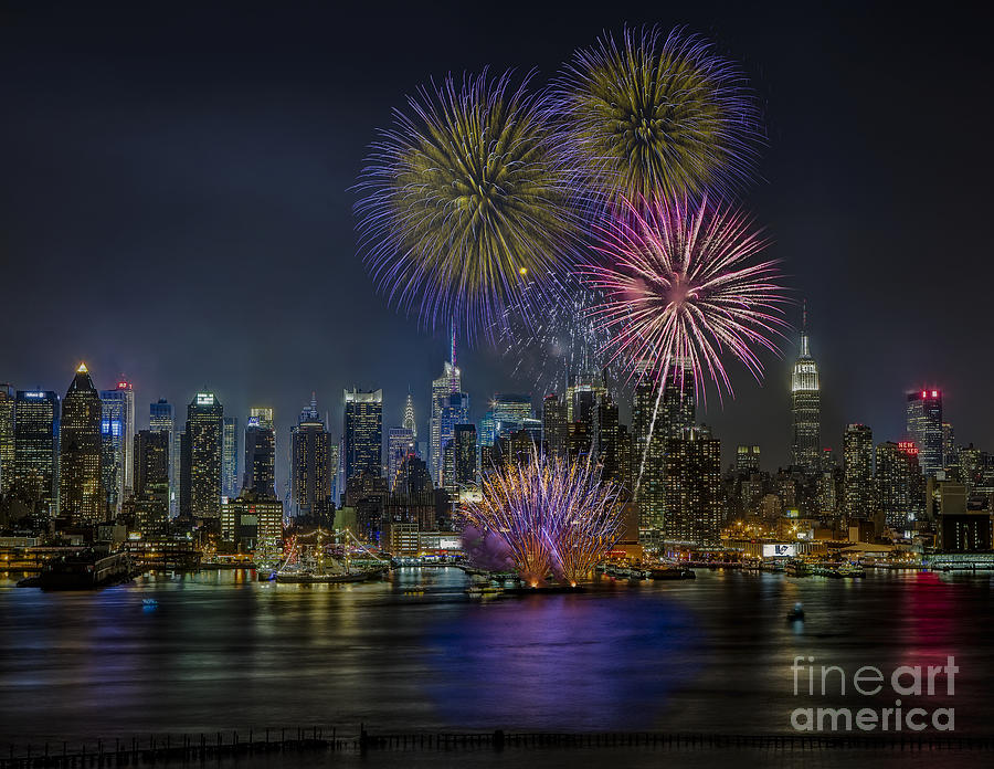 Nyc Celebrates Fleet Week Photograph  - Nyc Celebrates Fleet Week Fine Art Print