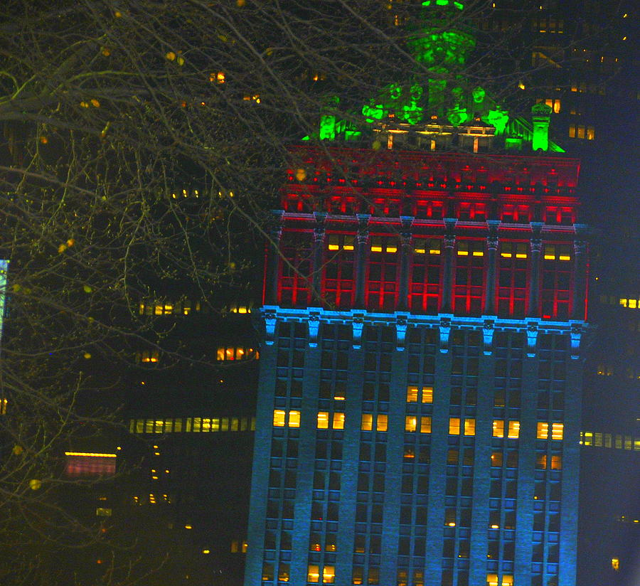 Nyc Photograph - Nyc Christmas Time by Sue Rosen