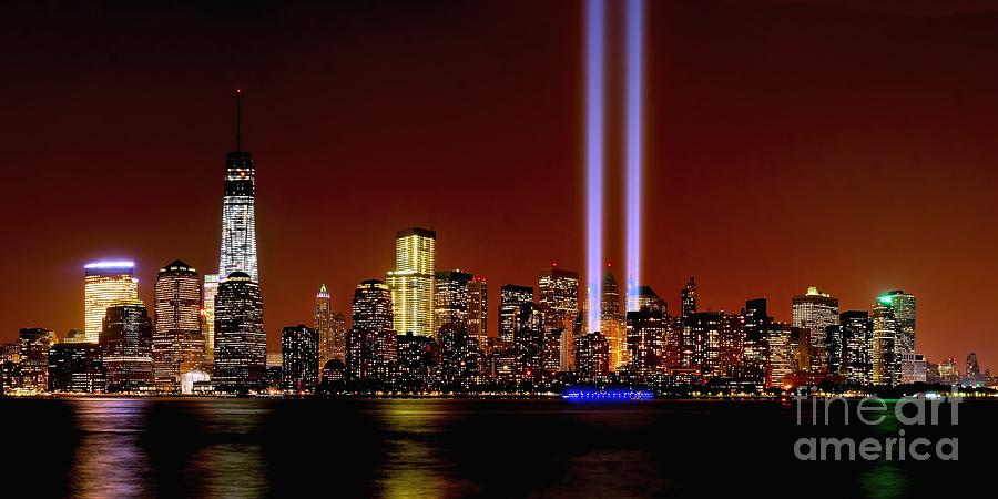 Nyc Tribute In Light 2013 Photograph