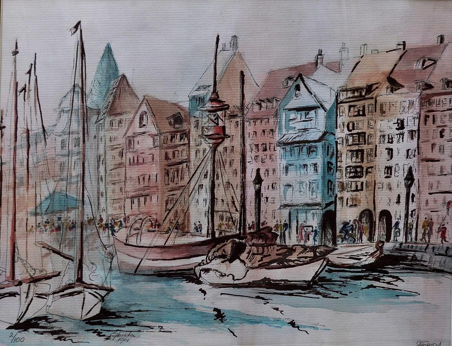 Nyhavn Painting