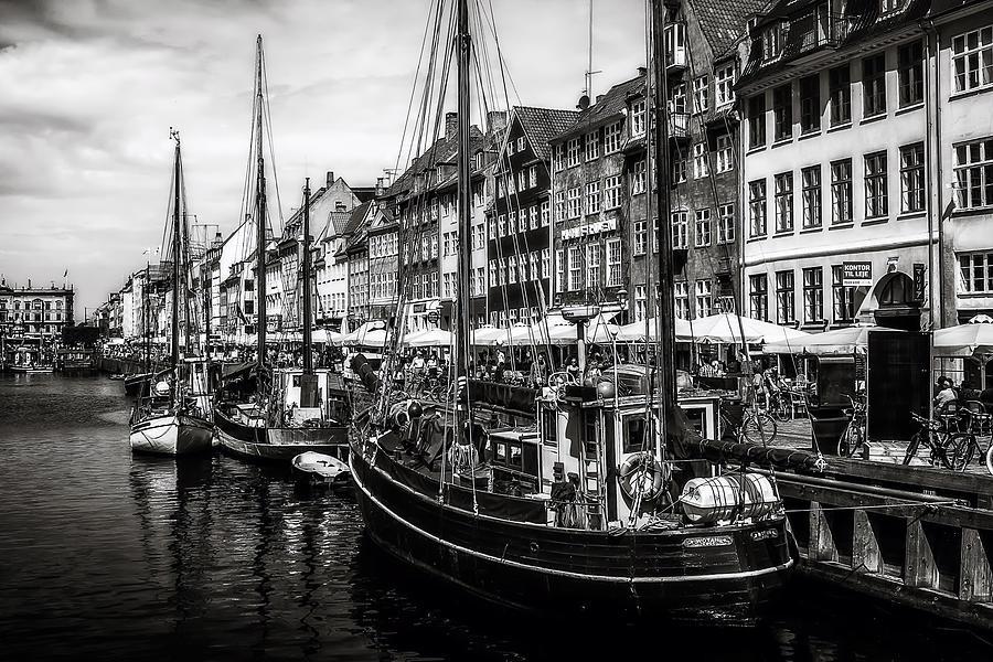 Nyhavn Harbor Photograph