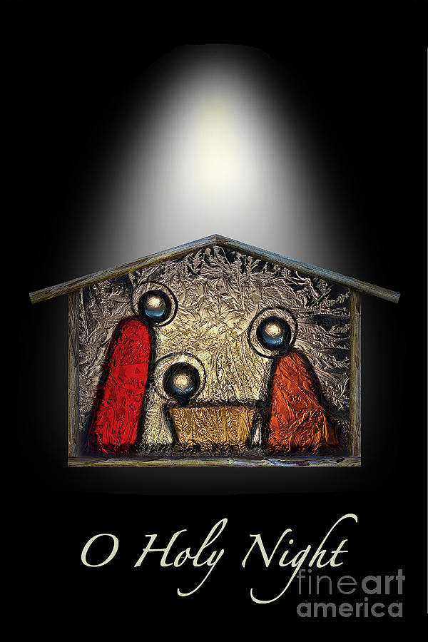 O Holy Night Digital Art  - O Holy Night Fine Art Print