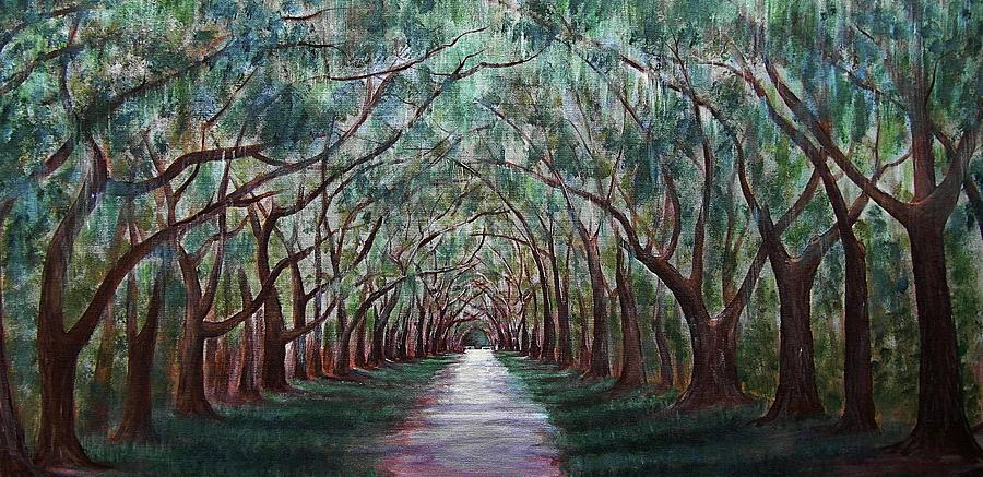 Oak Avenue Painting