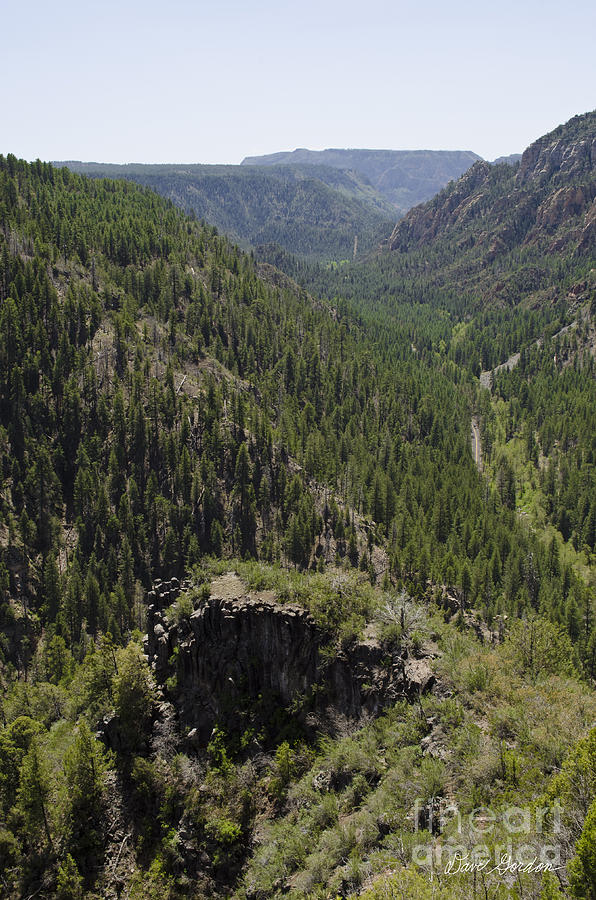 Oak Creek Canyon Overlook Photograph  - Oak Creek Canyon Overlook Fine Art Print