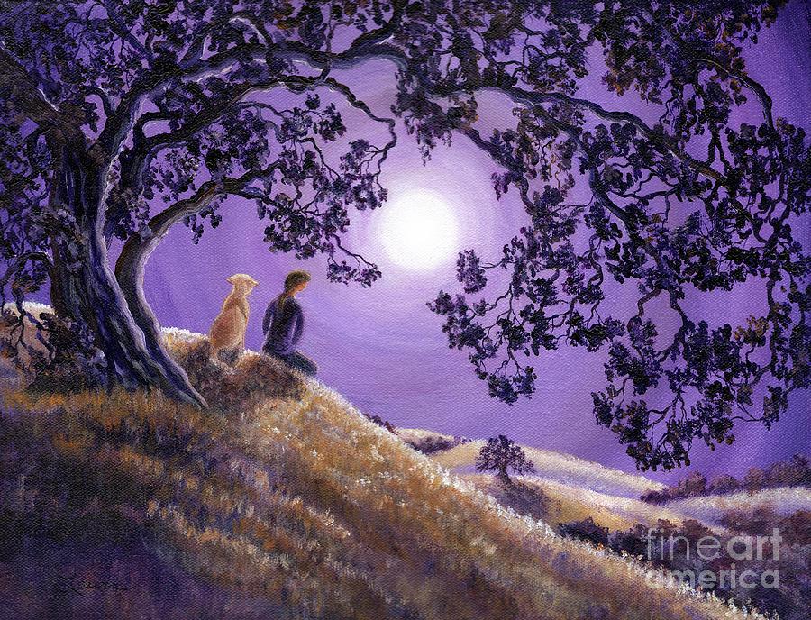 Zen Painting - Oak Tree Meditation by Laura Iverson