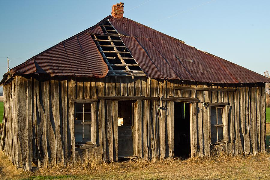 Old Photograph - Oalold House Place Arkansas by Douglas Barnett