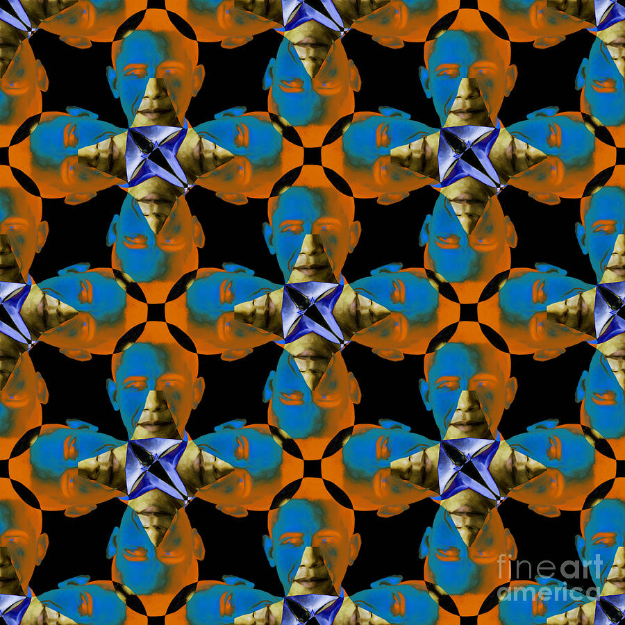 Obama Abstract 20130202p28 Photograph  - Obama Abstract 20130202p28 Fine Art Print