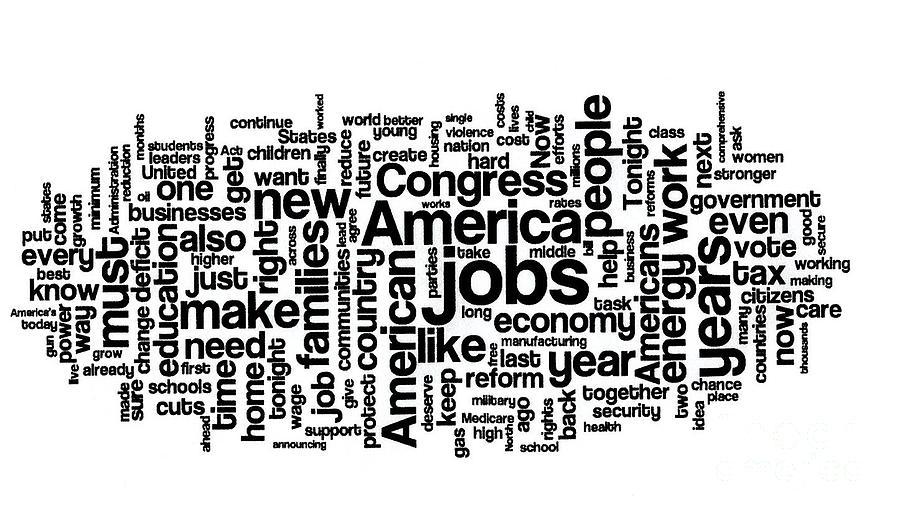 Obama State Of The Union Address - 2013 Photograph