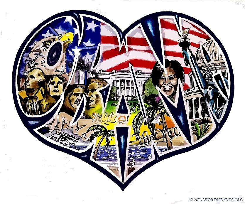 Obama Drawing - Obamas Presidency  by Alexis Heath