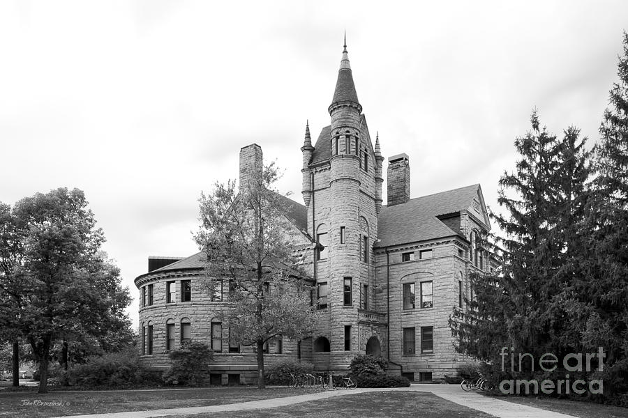 Oberlin College Peters Hall Photograph