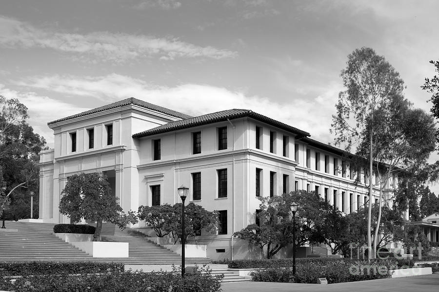 Occidental College Fowler Hall Photograph  - Occidental College Fowler Hall Fine Art Print
