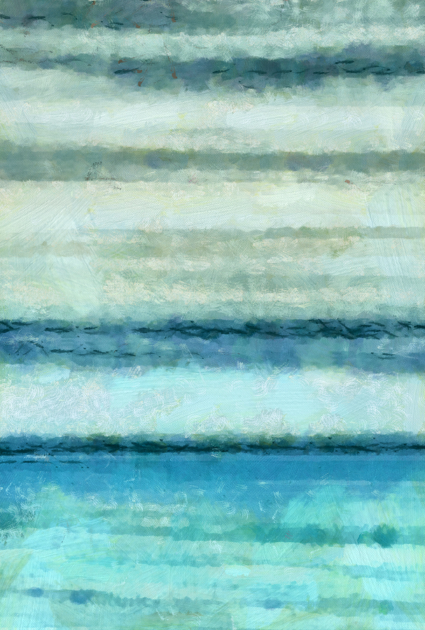 Ocean 4 Mixed Media by Angelina Vick