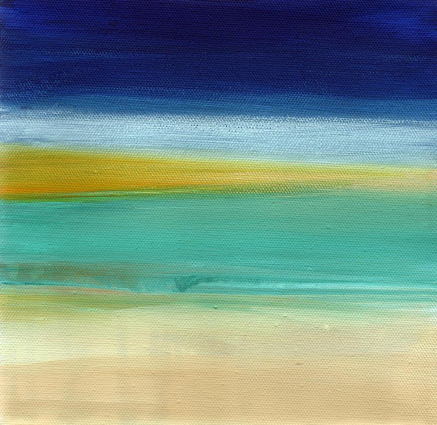 Ocean Blue 3- Art By Linda Woods Painting