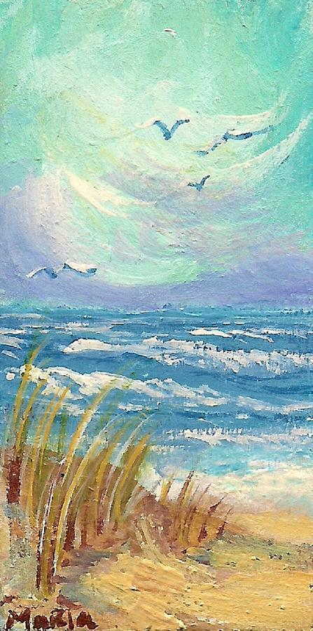 Ocean Breeze Painting  - Ocean Breeze Fine Art Print