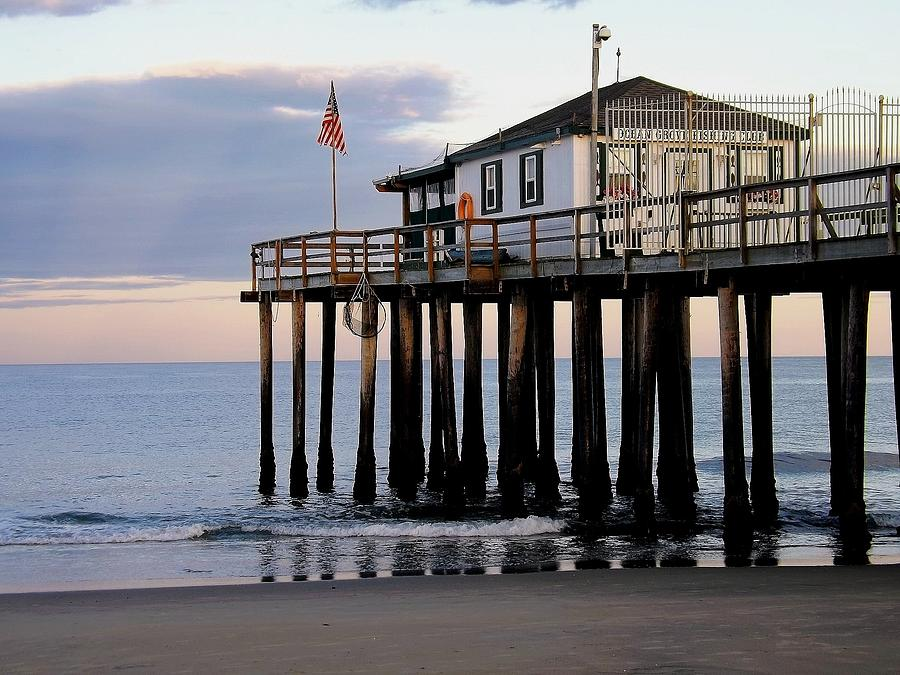 Ocean Grove Fishing Club Photograph  - Ocean Grove Fishing Club Fine Art Print