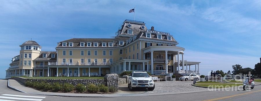 Ocean House Pano - Rhode Island Photograph