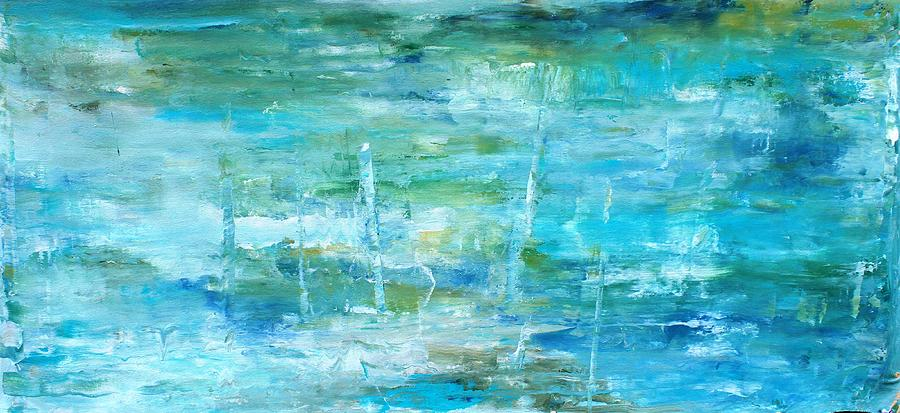 Pastel Painting - Ocean I by Tia Marie McDermid