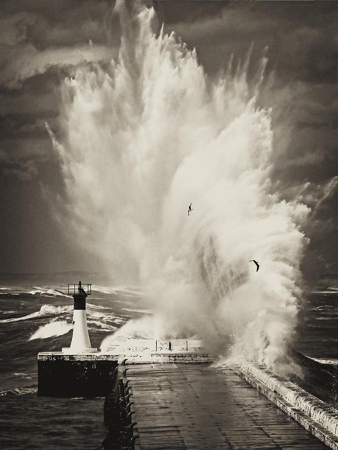 Fine Art America Photograph - Ocean Motion by Andrew  Hewett