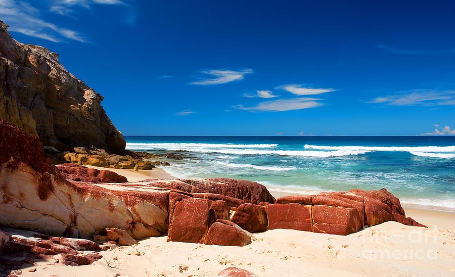Ocean  Photograph - Ocean Rocks by Boon Mee