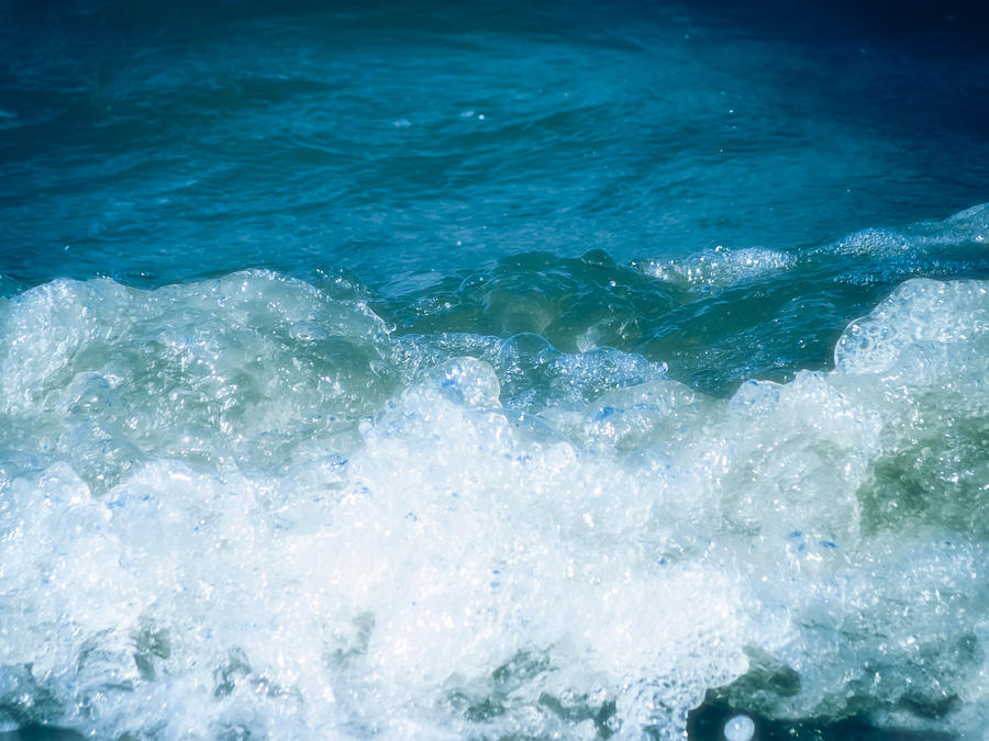 Ocean Splashes Photograph