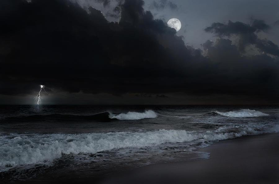 Ocean Storm Photograph