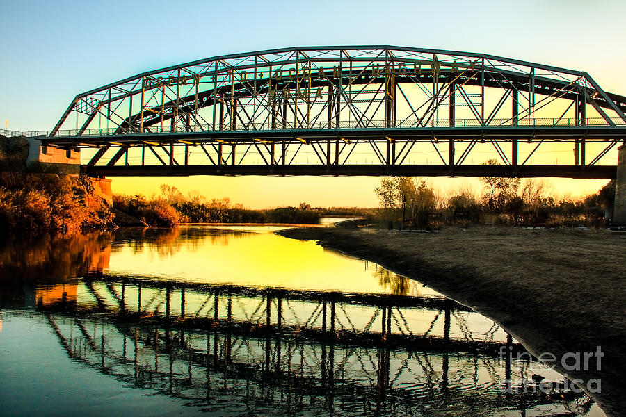 Colorado River Photograph - Ocean-to- Ocean Bridge by Robert Bales