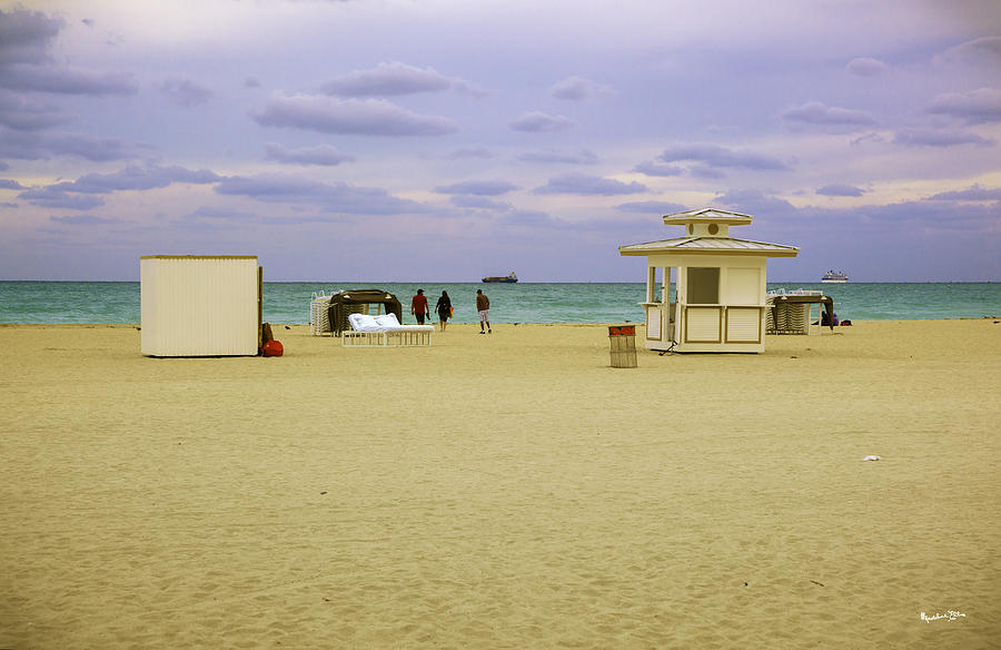 Ocean View 3 - Miami Beach - Florida Photograph