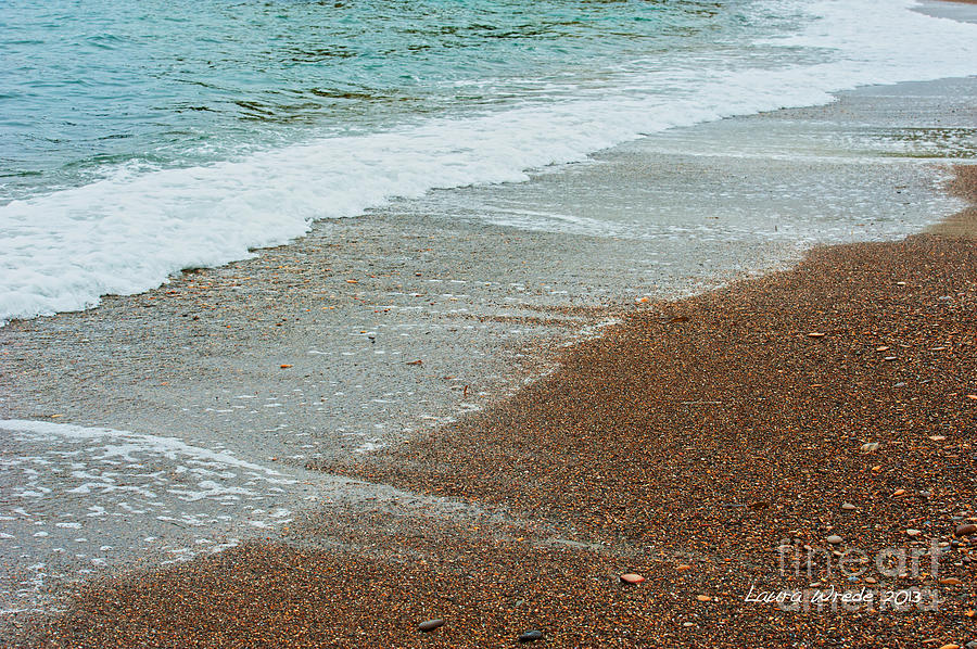 Ocean Wave Color Palette Photograph  - Ocean Wave Color Palette Fine Art Print