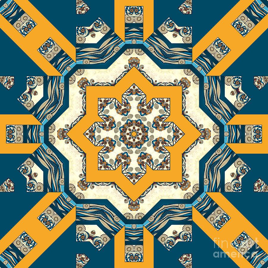 Ocean Waves - Mandakal 02cm22  Digital Art