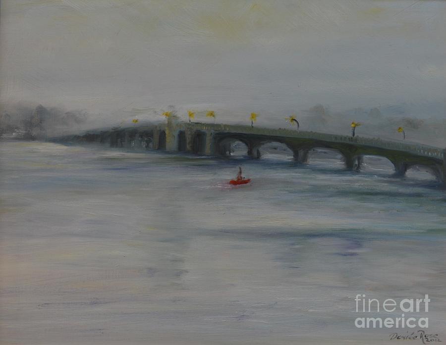 Oceanic Bridge Painting