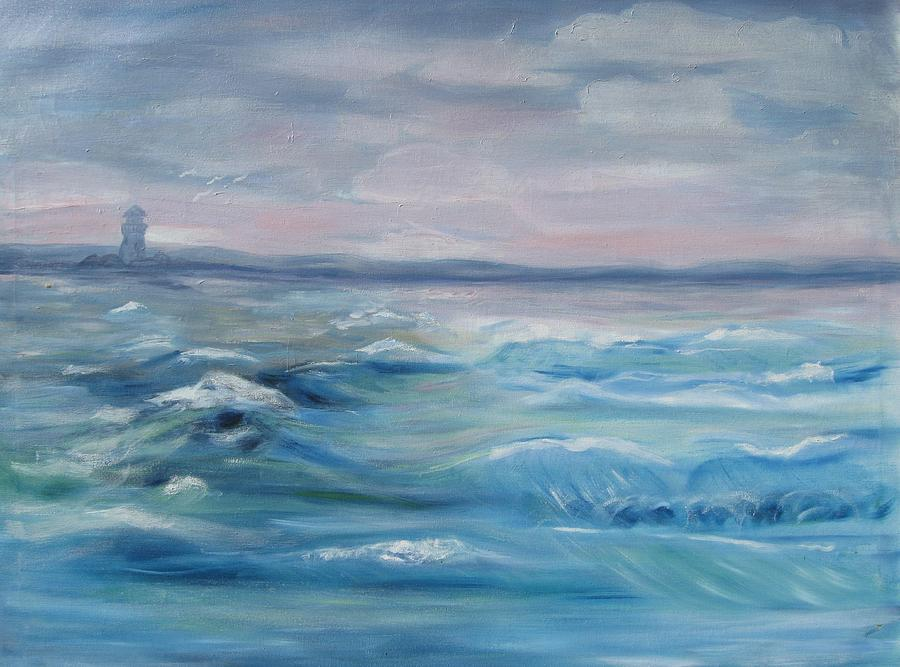Ocean Painting - Oceans Of Color by Diane Pape