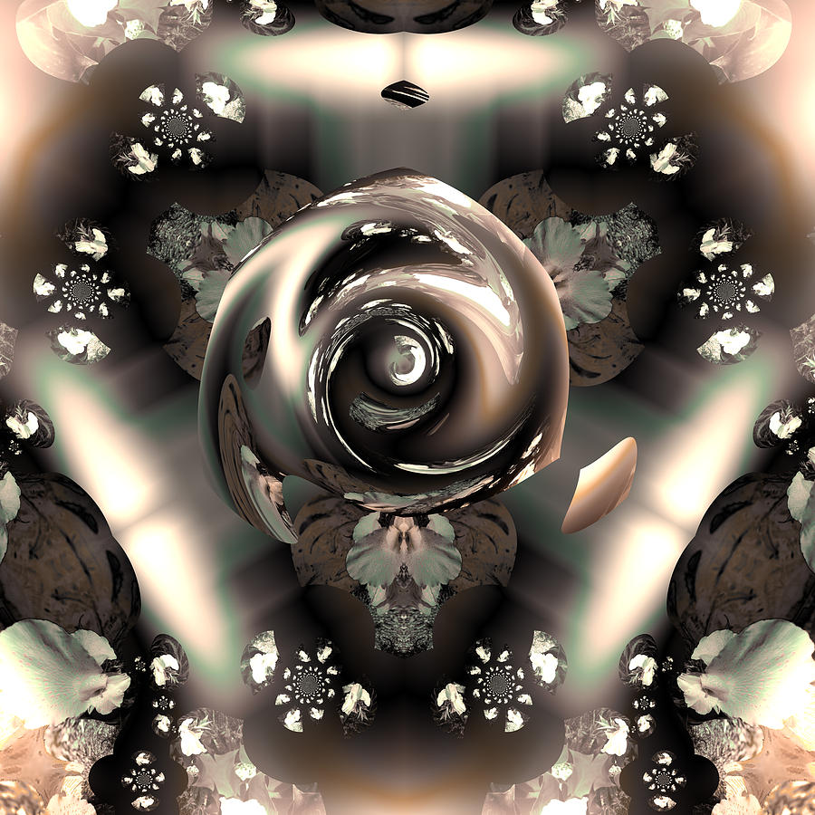 Ocf 391 The Fragrance Of Thought Digital Art  - Ocf 391 The Fragrance Of Thought Fine Art Print